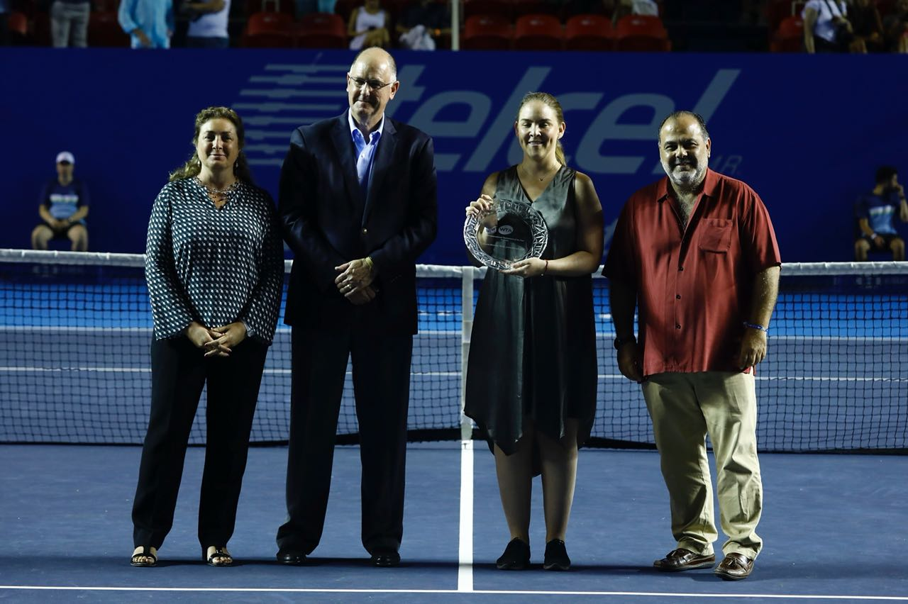 WTA grants recognition to Acapulco for his 25 years – 02-03-2018