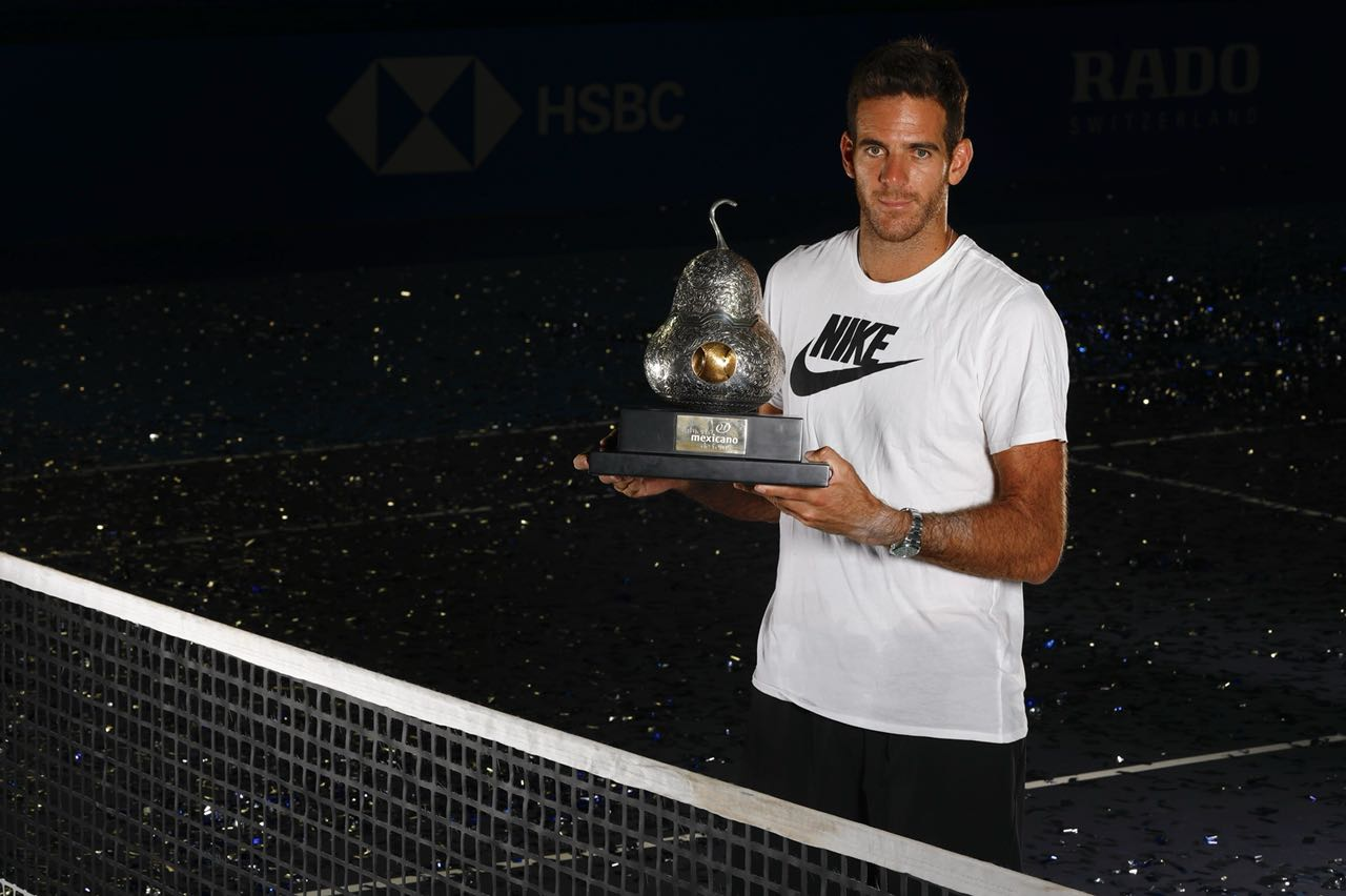 Session of photo with the champion Juan Martín del Potro #AMT2018 – 03/03/2018
