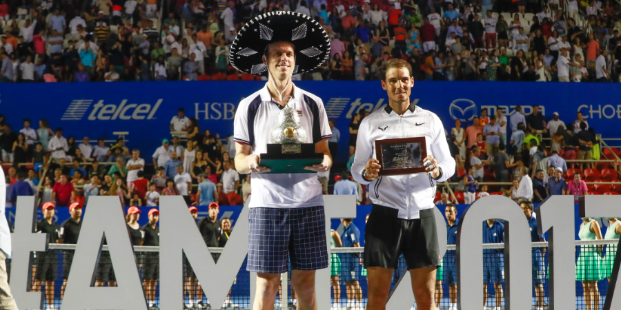 Querrey: the first American to own the Acapulco Title