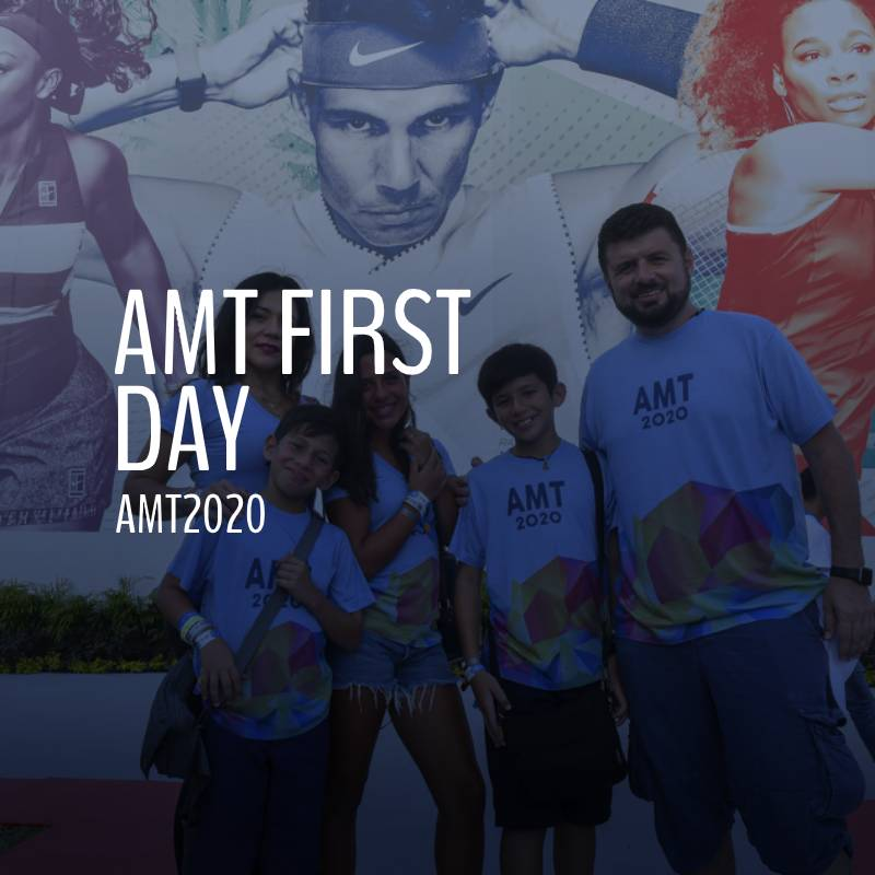 AMT2020 First Day